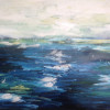 The Ditch (North Sea)  Oil on Canvas