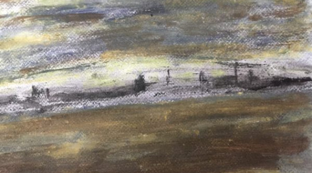 Harbor at the Wadden Sea (sold)