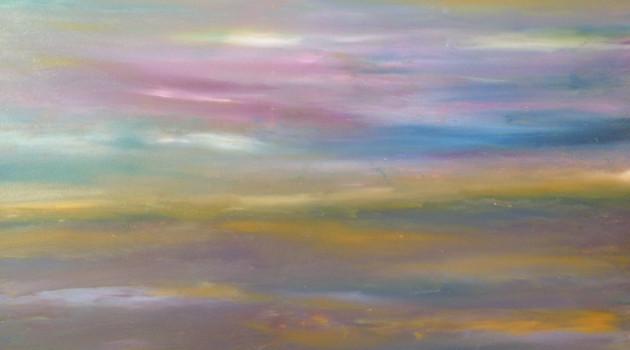 Oh Colourful Sea  Oil on Canvas
