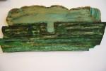 Waddengebied Asfalt op hout 2011